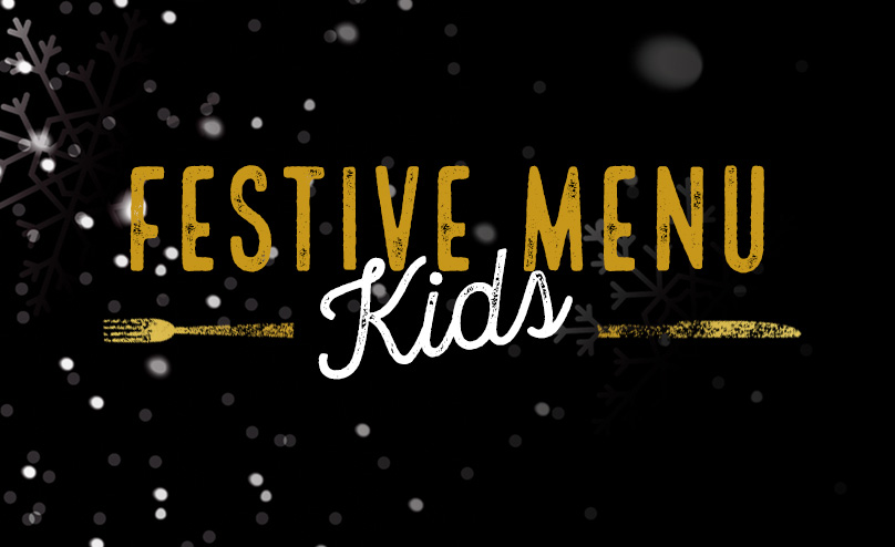 Festive Kids Menu at The Headingley Taps